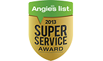 Angie's List Customer Service Award 2013